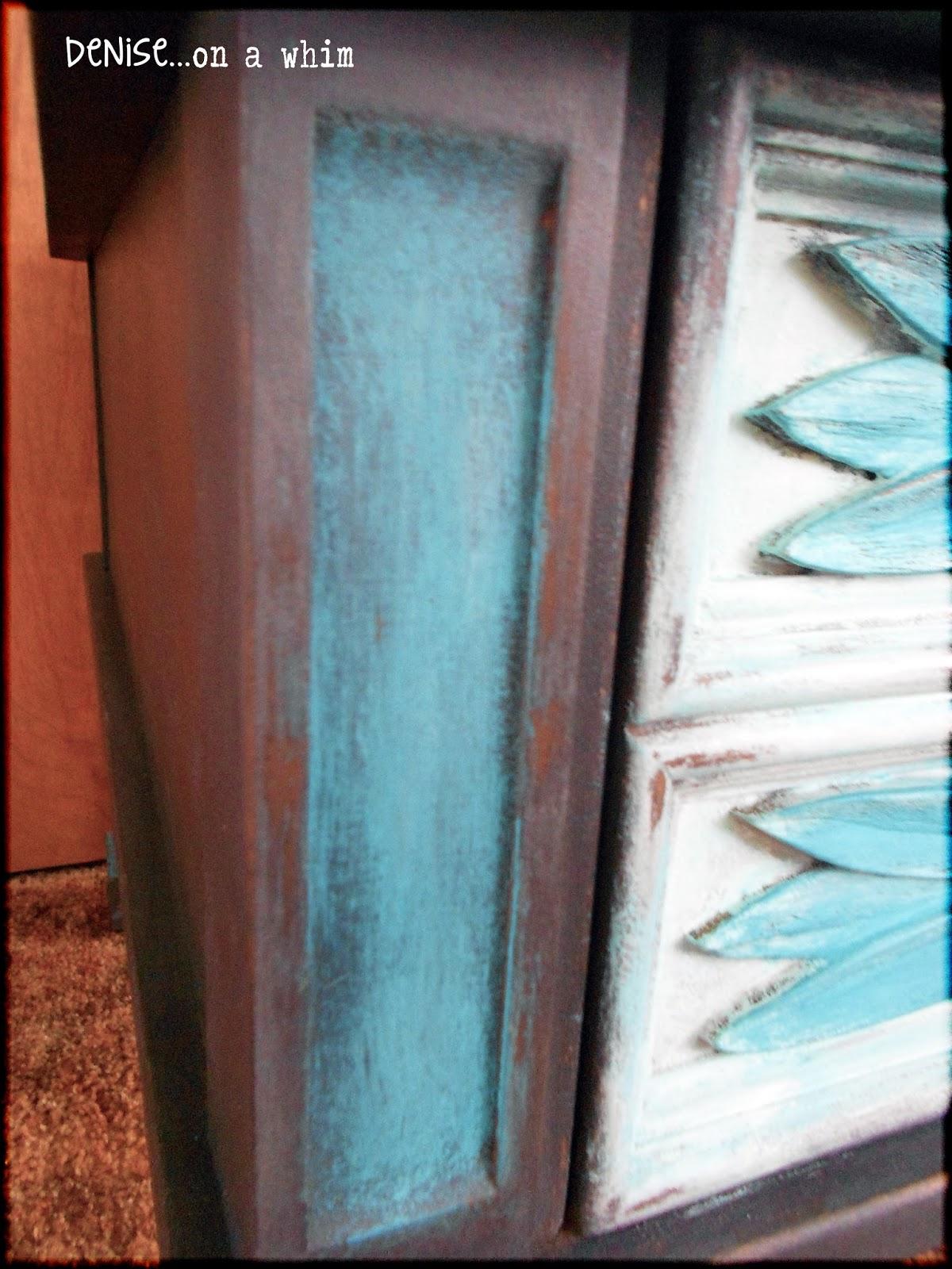 American Paint Company's Peacock via http://deniseonawhim.blogspot.com