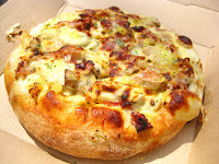 Domino's Chicken Carbonara Breadbowl