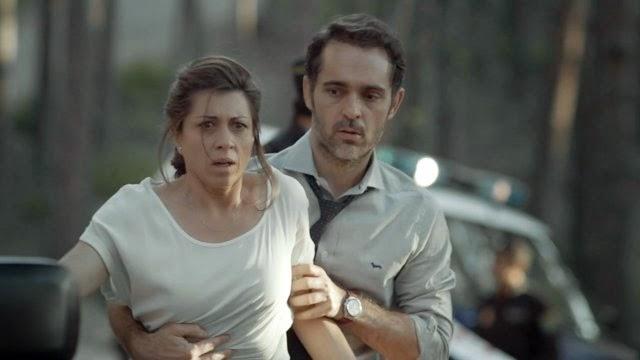 Carmen y Roberto, los padres de la niña