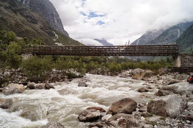 Bridge in North Sikkim