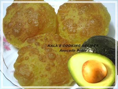 Avocado Poori | Butterfruit Puri | Vennai Pazham Poori / வெண்ணைய் பழம் பூரி | Indian deep fried bread
