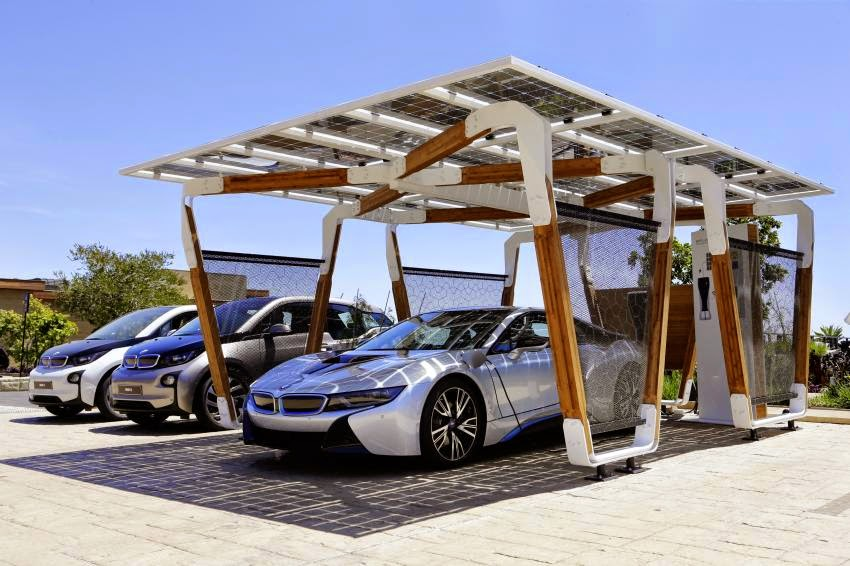 BMW iSolar carport