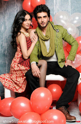 Humaima Malik and Imran Abbas