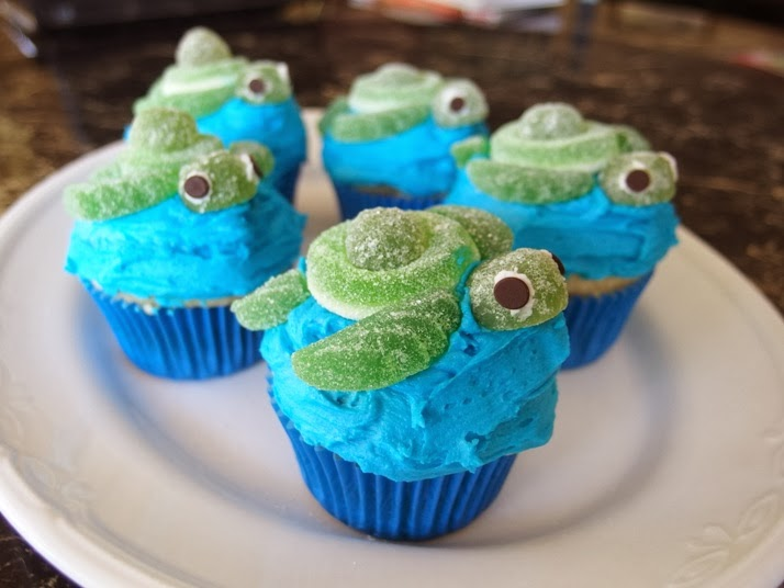 Reezs Gap Year The Things I Deem Bloggable Turtle cupcakes