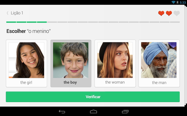 Duolingo para Android