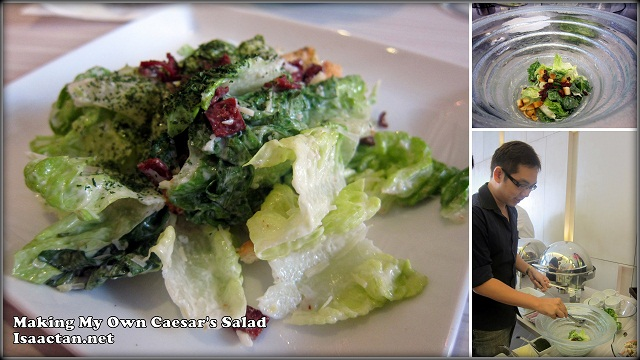 Make your own caesar's salad
