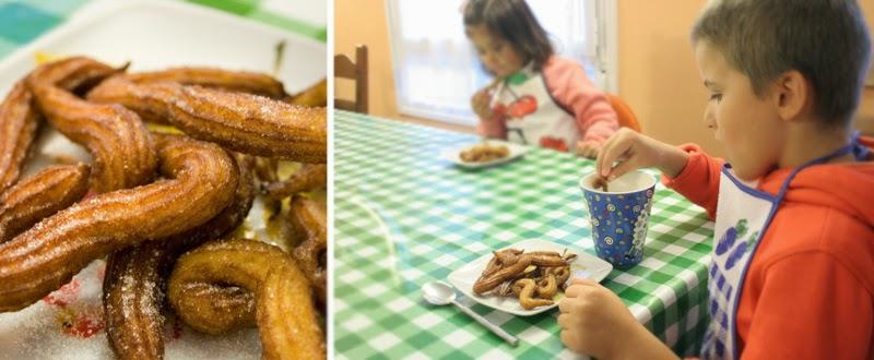 Receta de churros con los niños | DEF Deco - Decorar en familia