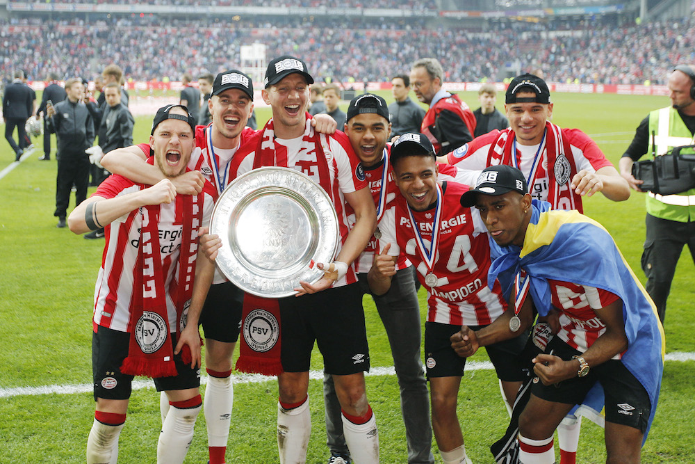 Allenamento calcio PSV portiere
