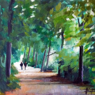 Out for a Walk by Liza Hirst