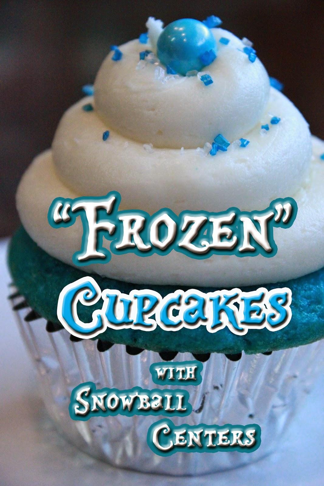 Frozen Disney Cupcake Ideas