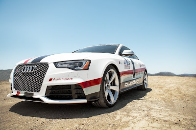 Audi RS5 Pikes Peak : Les premières photos [+MàJ]