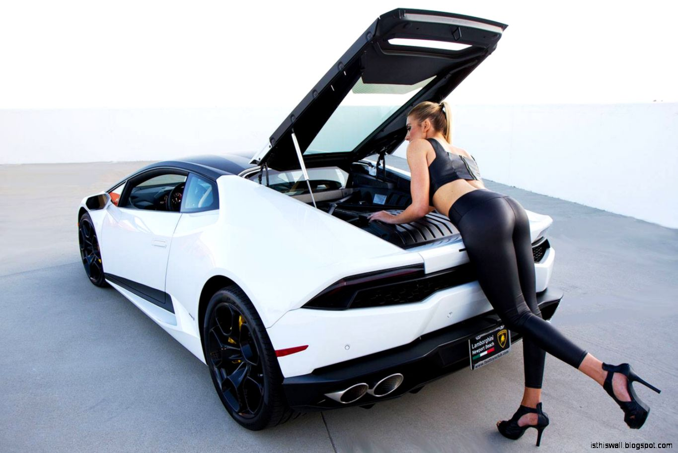 your lamborghini huracan and