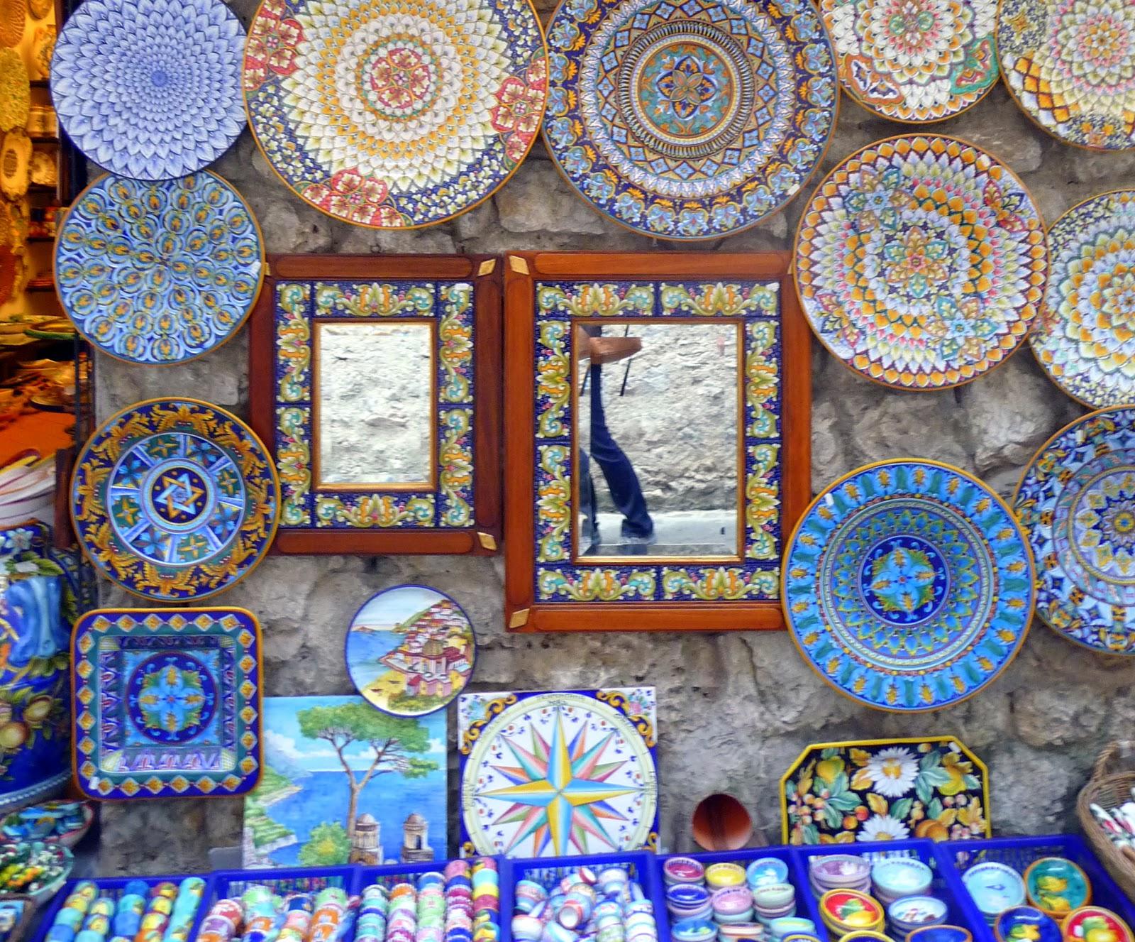 Teapots And Polka Dots Italian Blues Amalfi Coast Edition