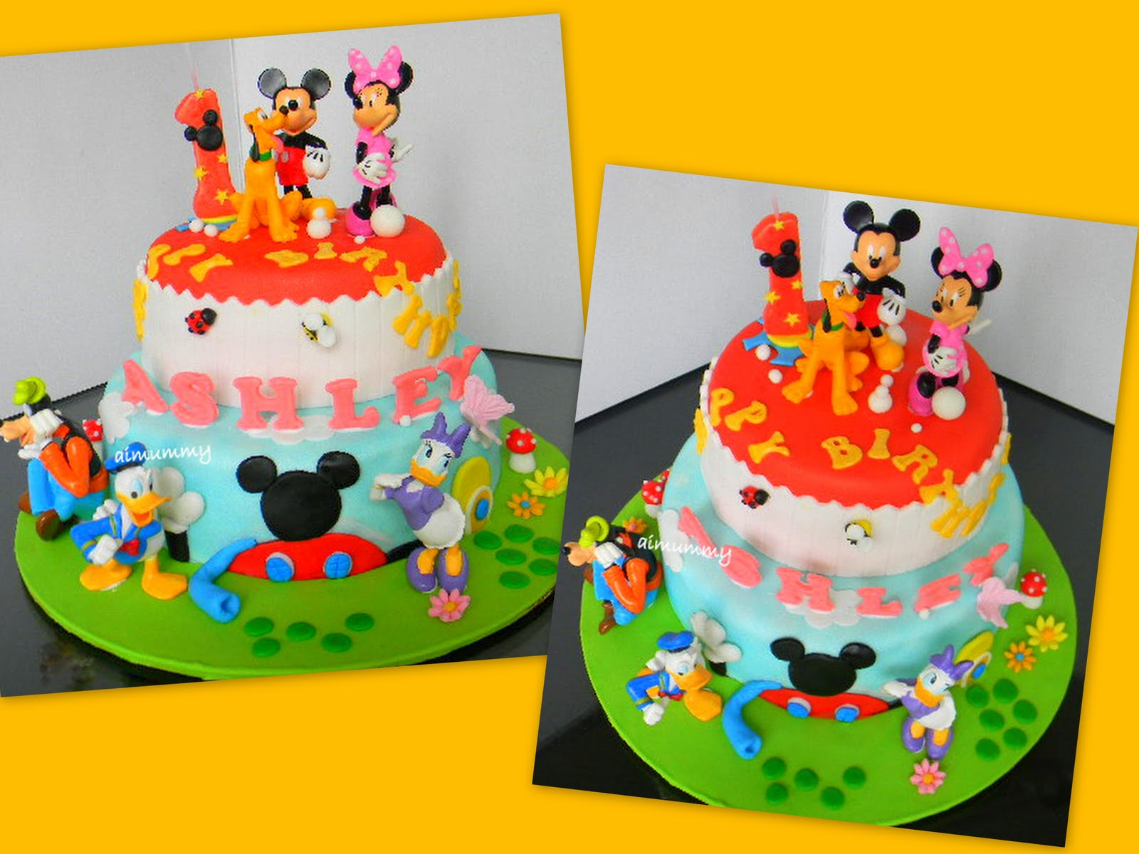 Goldilocks Cake Design Mickey Mouse Dmost for