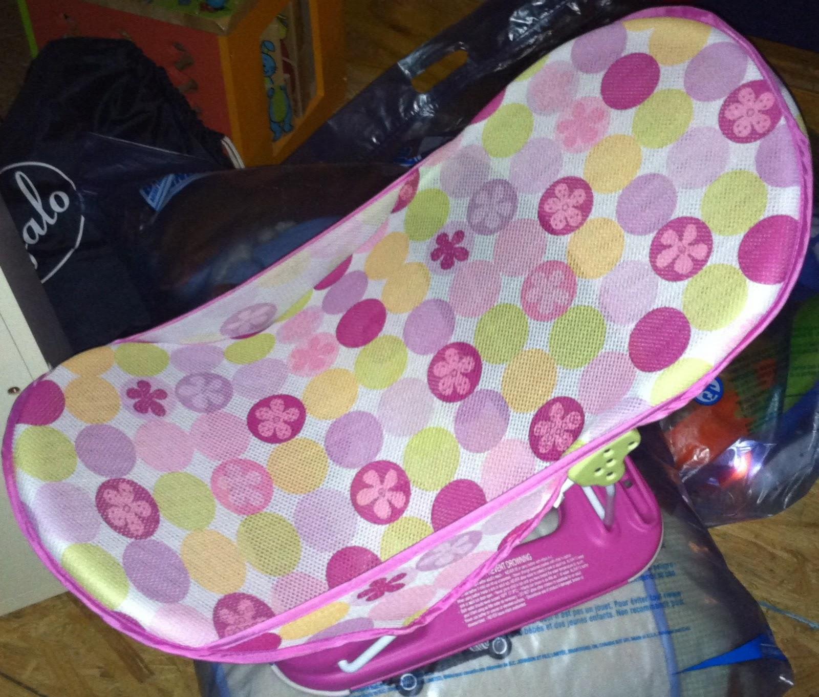 Want My Kids\' Stuff?: Mesh Bath Seat