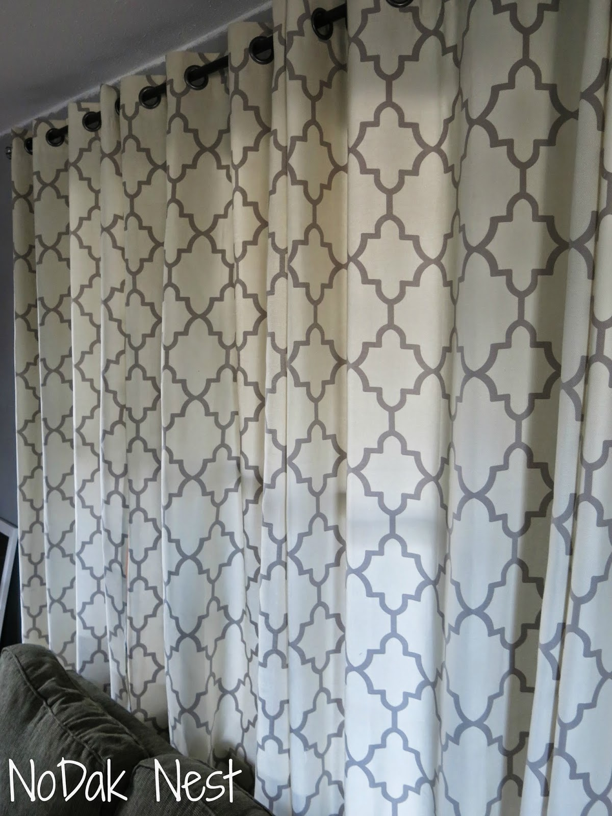 The Excitement Of My Curtain Score Was Quickly Killed As I Realized I Now  Had To Buy Curtain Rods For All These Windows. If You Have Ever Shopped For  Extra ...