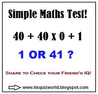 math quiz with answers images. Black Bedroom Furniture Sets. Home Design Ideas