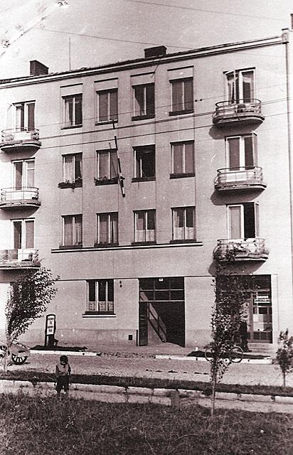 Końskie, getto, ul. 3 Maja 60. Fotografię udostępnił Mateusz Partyka