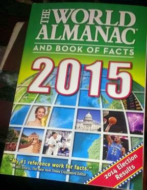 he World Almanac and Book of Facts 2015 cover