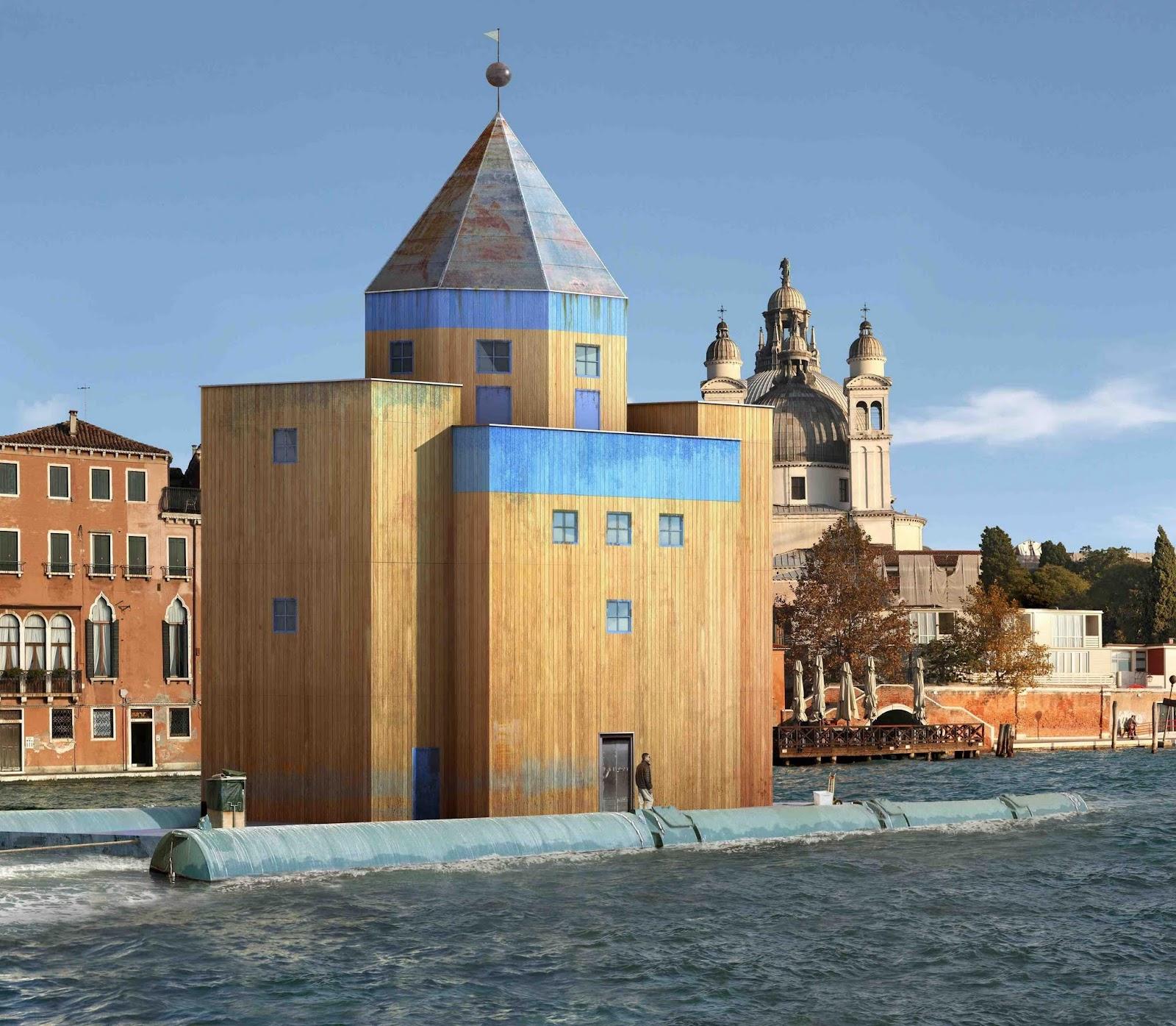 Resultado de imagen de teatro mundo, venecia