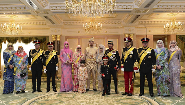 the royal wedding of hajah hafiza daughter of the quotsultan