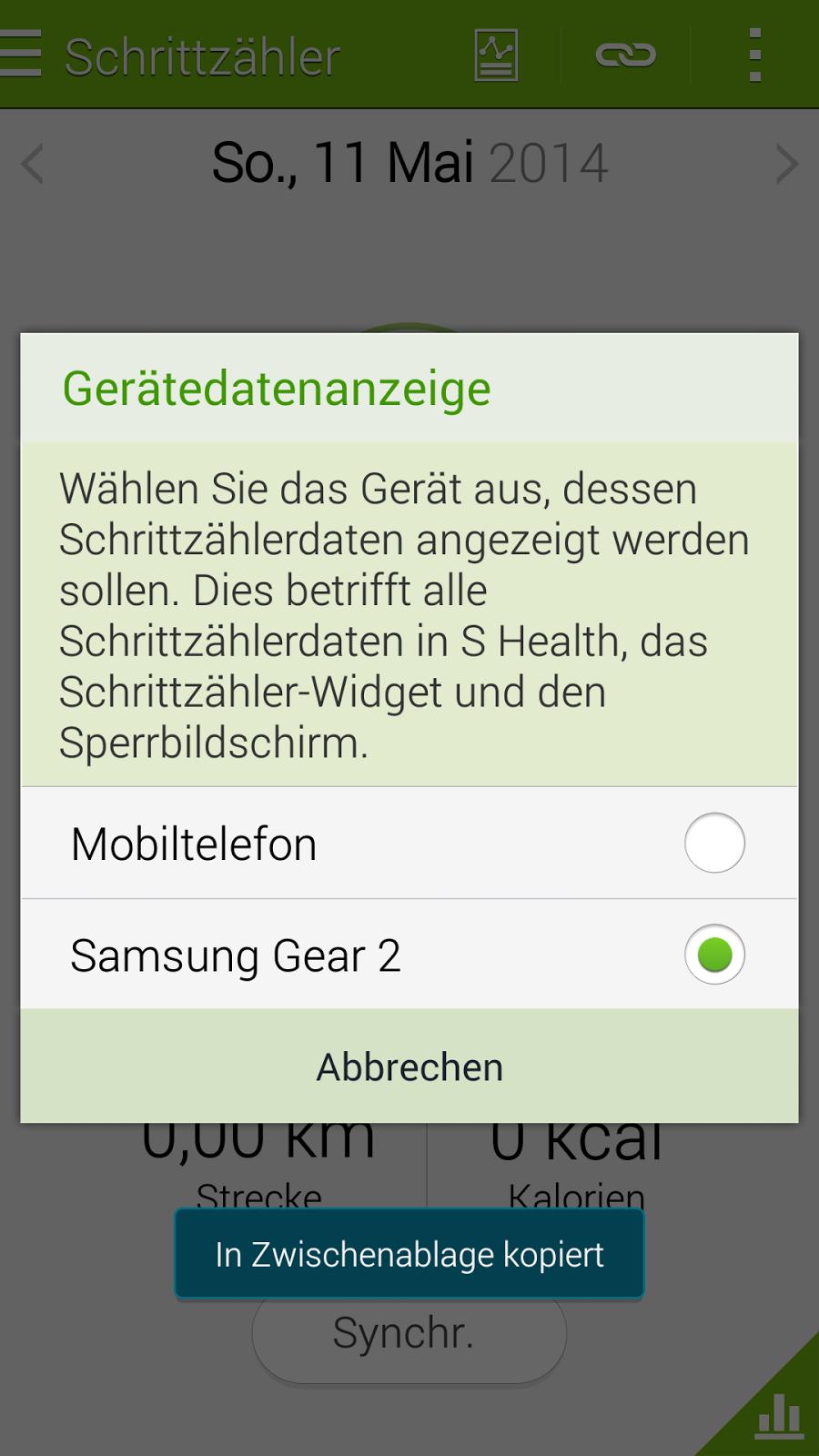 Gadget Checks S Health Und Gear Wie Bringt Man Die Zwei Zusammen