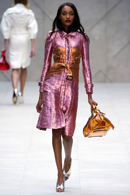 Jourdan Dunn for Burberry Prorsum Spring/Summer 2013