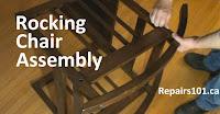 assembling a rocking chair kit
