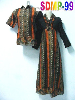 BATIK ORANGE COUPLE SDMP-99