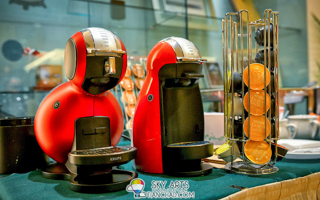 NESCAFE Dolce Gusto Bloggers Sharing Session @ Nescafe beautiful Office Building the other day