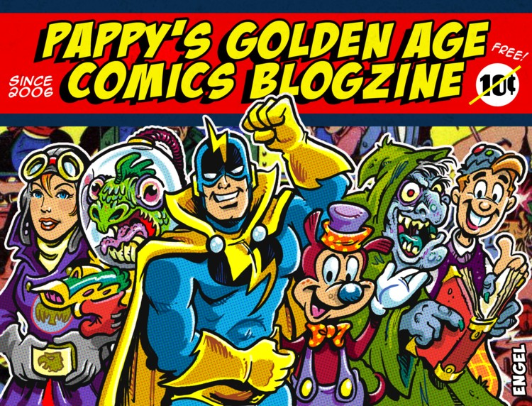 Pappy's Golden Age Comics Blogzine