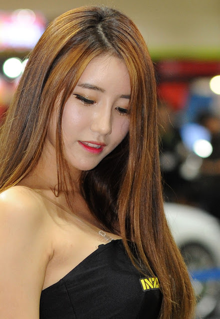 5 Im Sol Ah - 2015 Seoul Auto Salon - very cute asian girl-girlcute4u.blogspot.com