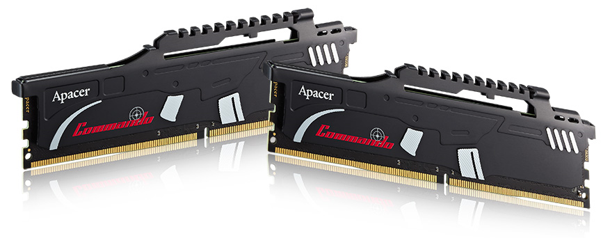 Apacer Commando DDR4 Overclocking Memory Module