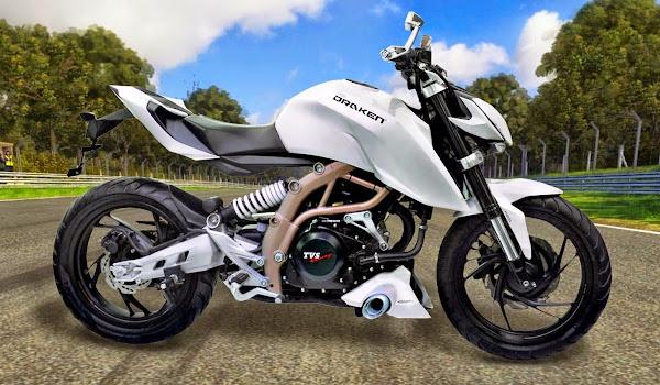TVS Draken 250 cc. Majalah Otomotif Online
