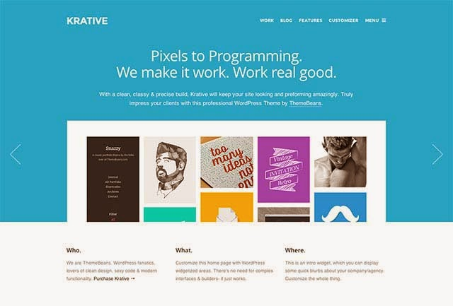 Krative | Responsive Multi-Purpose Business Theme
