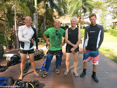 PADI IDC on Koh Lanta for January 2016 is halfway