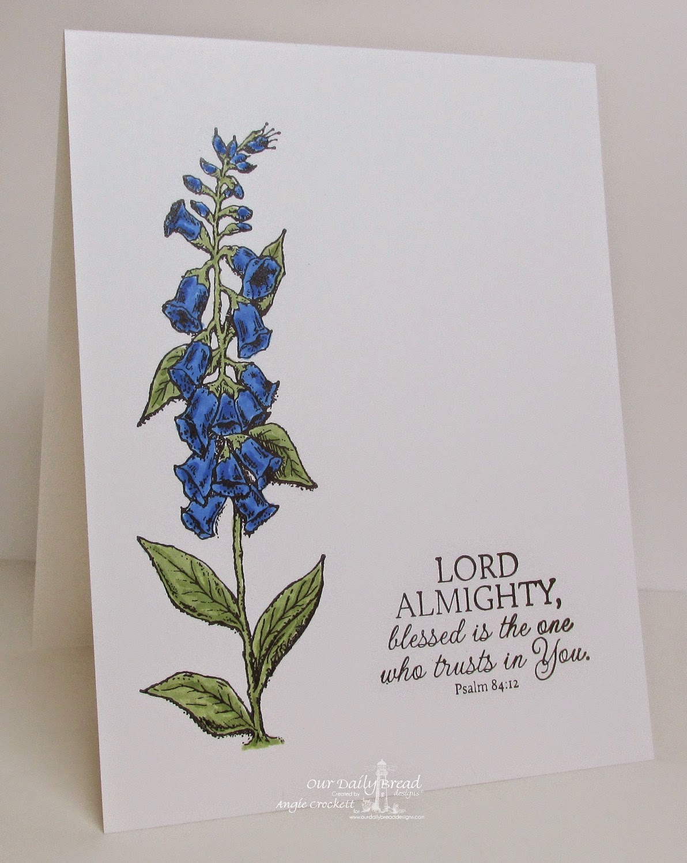 ODBD Bloom, Card Designer Angie Crockett