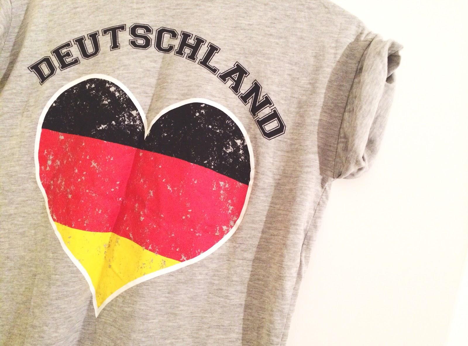 Mittwochs mag ich, Mmi, Weltmeisterschaft, Fußball, Brasilien, World Cup, Deutschland, Finale, Primark, T-Shirt, schwarzrotgold