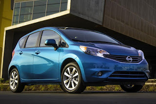 2015 New Nissan Versa future car front view