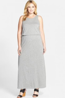 JUNAROSE 'Zira' Back Cutout Sleeveless Jersey Maxi Dress (Plus Size)