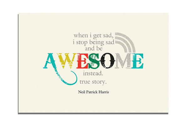 "Free Friday! ""Awesome"" Quote!"