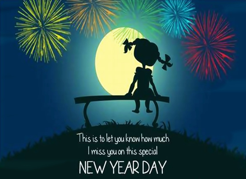 Happy New Year Miss You Image