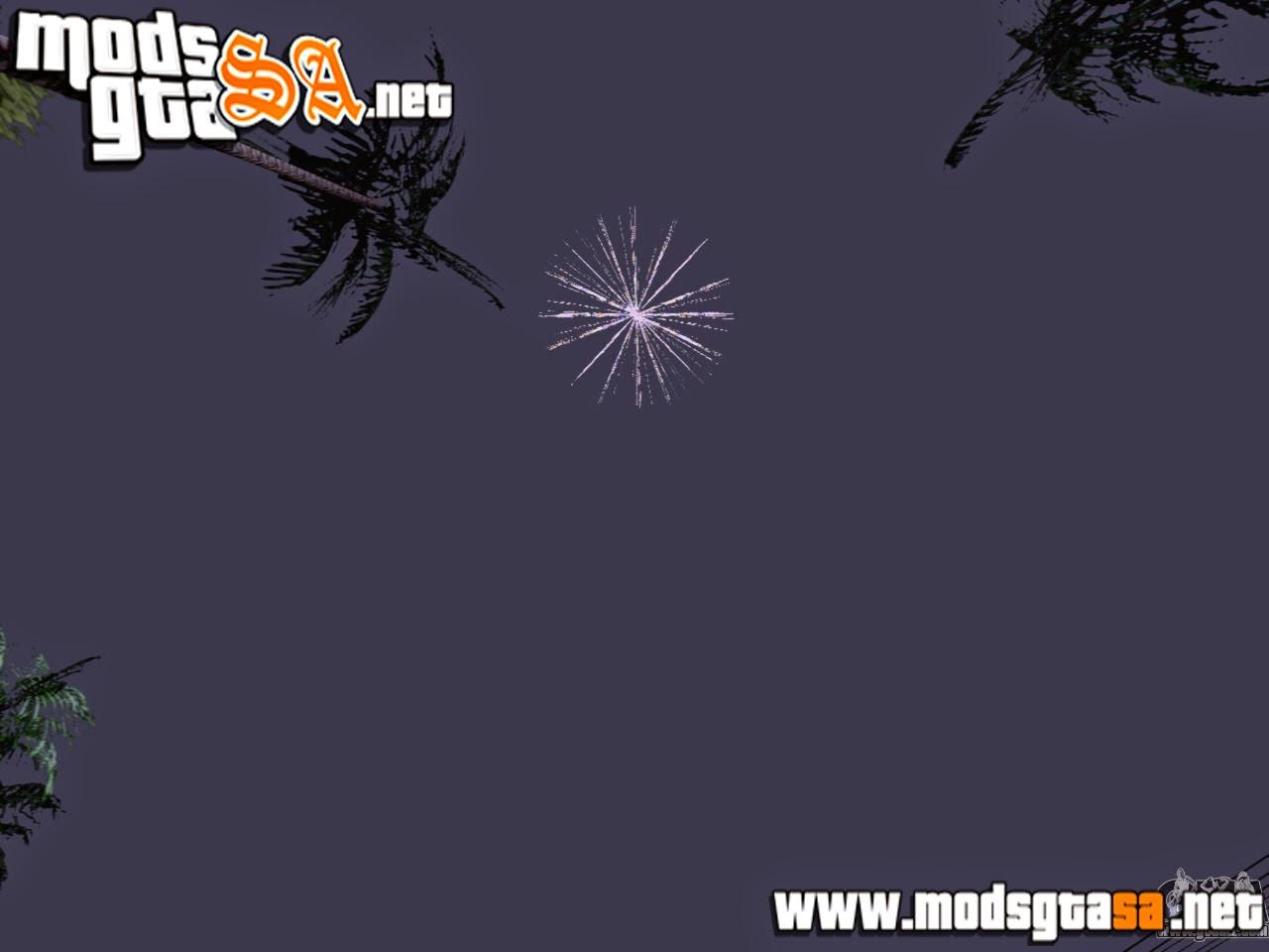 SA - Mod Lançamento De Fogos De Artifício