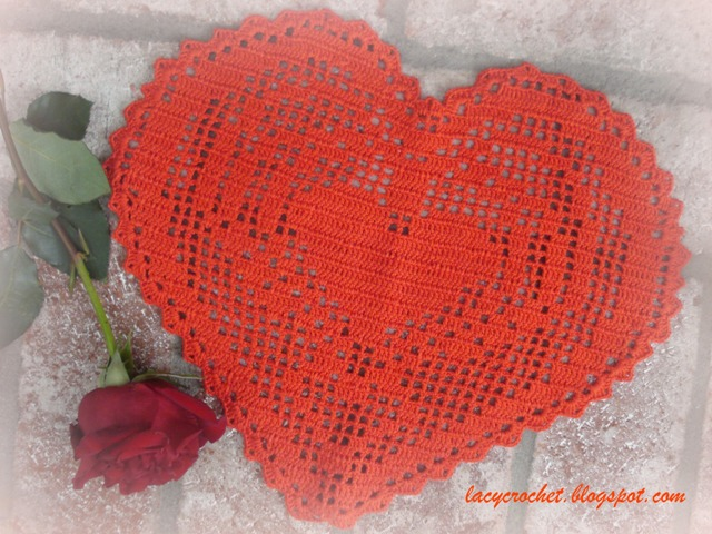 Red Heart Free Crochet Doily Patterns : Lacy Crochet: Doily of the Week #11: Red Heart Doily