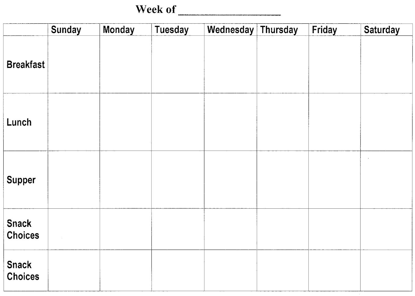 Blank Calendar To Fill In | Calendar Template 2016