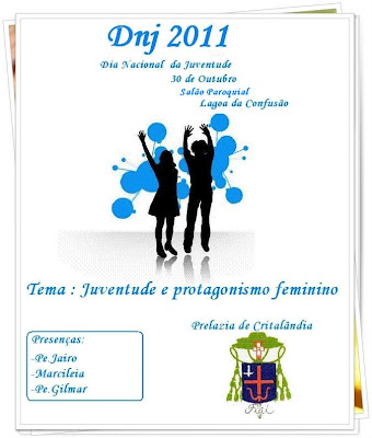 Dia Nacional da Juventude em Cristalândia/TO