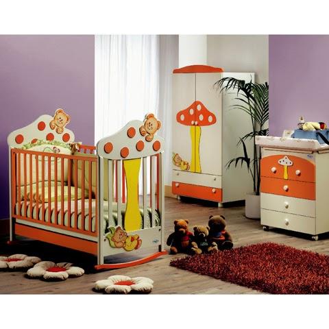 Dormitorios de beb alegres y coloridos ideas para for Ideas para disenar tu casa