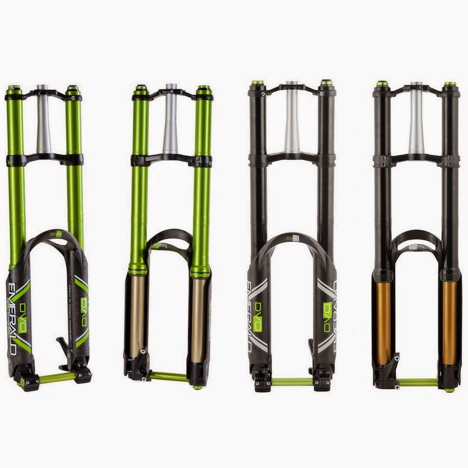 Bike News, Report, Suspension System, New Technology, rockshox rs-1 inverted fork, dvo emerald inverted fork, manitou dorado