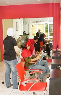 peluang usaha salon muslimah