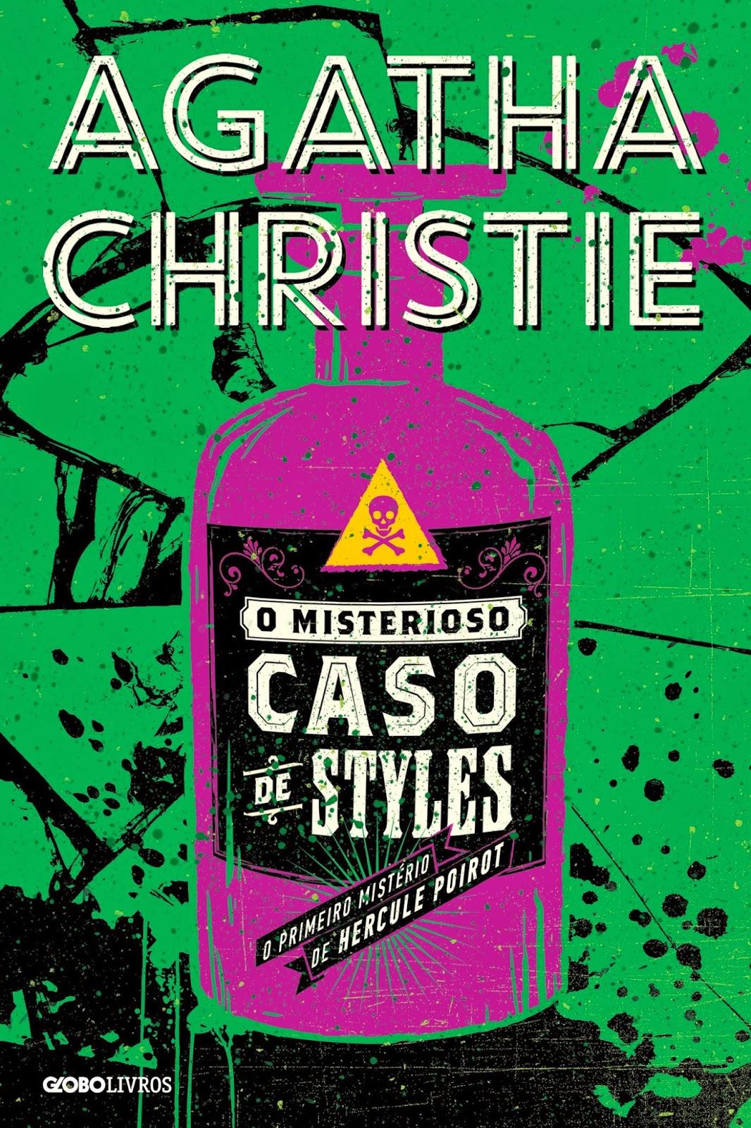 Novas edições dos livros da Agatha Christie pela editora Globo Livros
